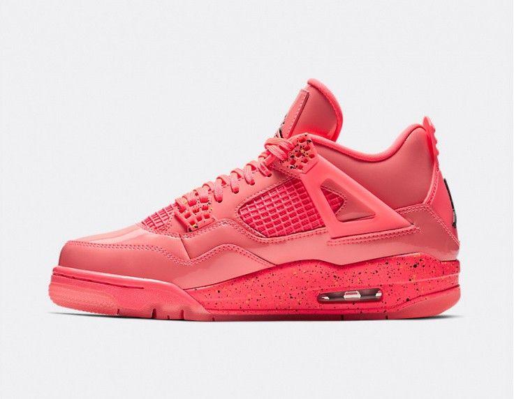 low priced d6ff2 6ab58 Jordan W Air Jordan 4 Retro NRG - Hot Punch Jordan 4, Pink Purple,