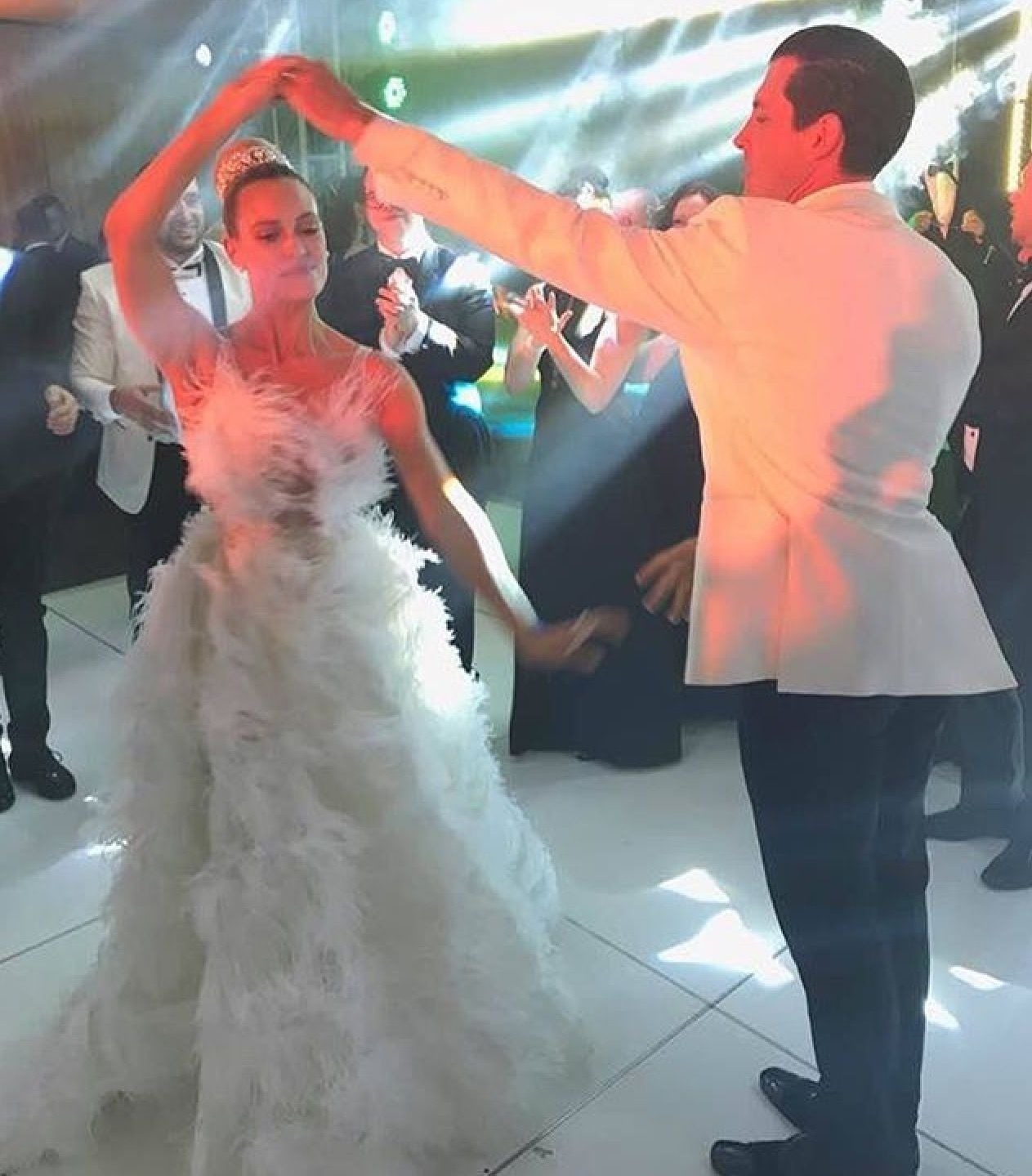 Ginger zee wedding dress  Pin by mary tull on maks and peta  Pinterest  PETA