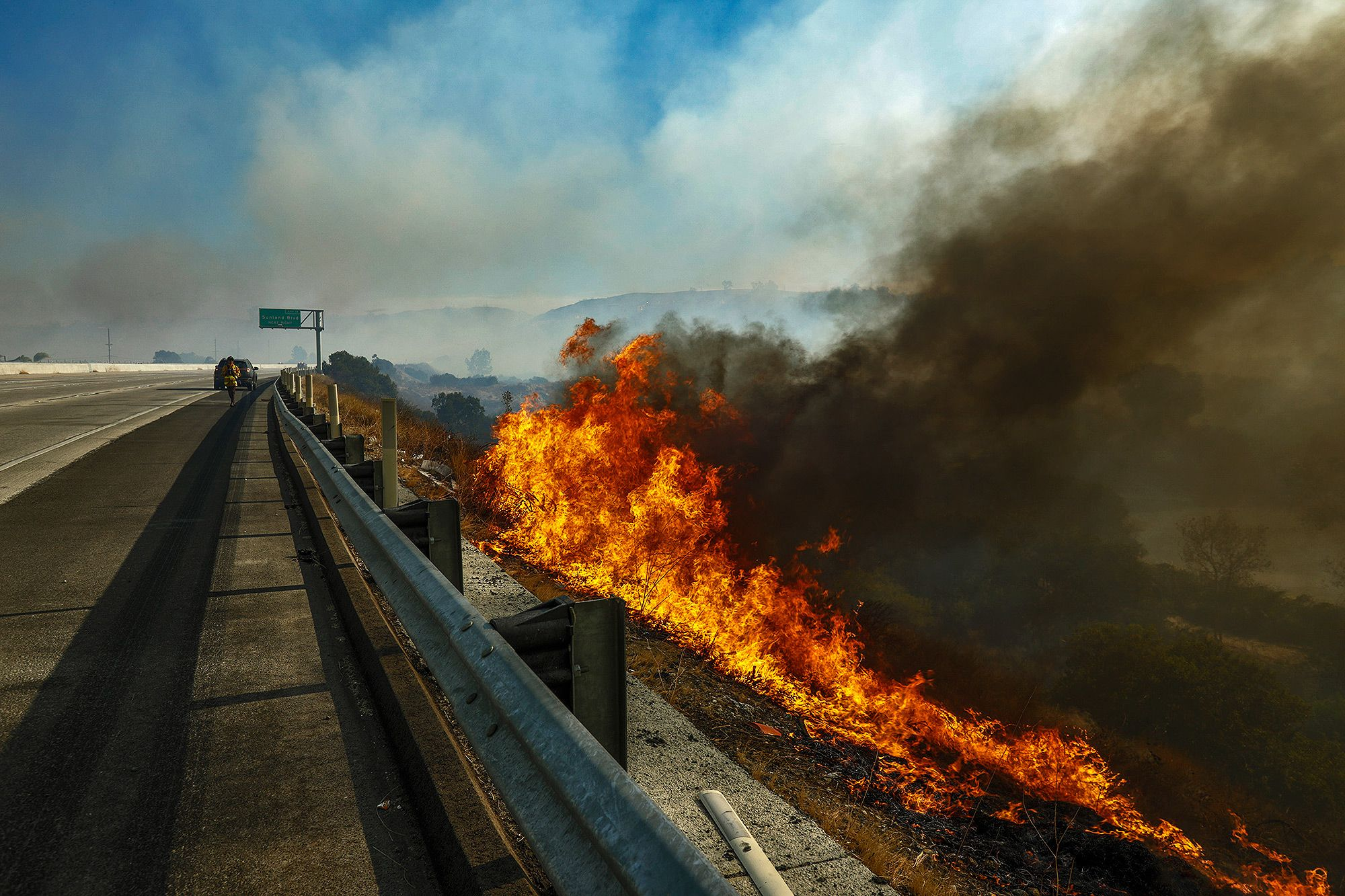 Find out exactly where the southern california wildfires