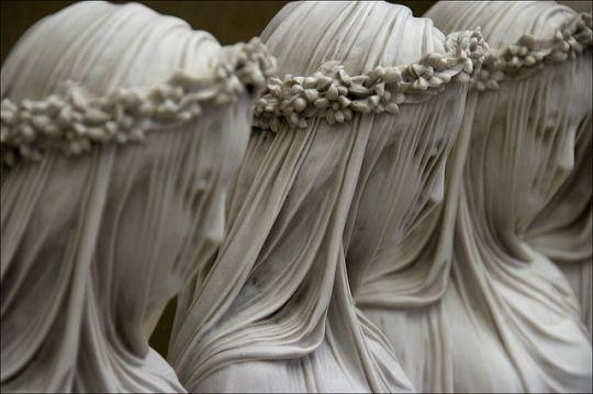 Veiled Figures by Raffaele Monti.