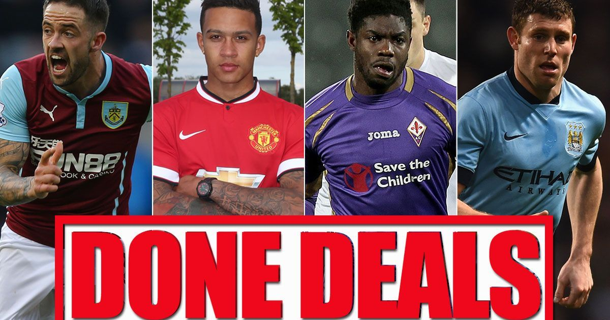 Summer Transfer Window All The Done Deals From Around The Premier League Transfer Window Premier League League