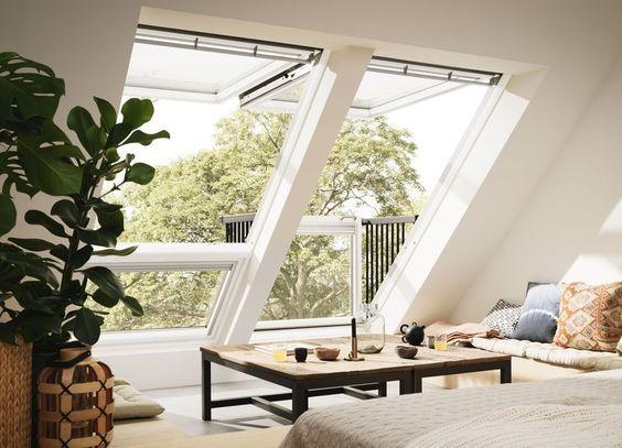Moderne Dachfenster