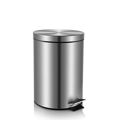 Fortune Candy Step Trash Can Garbage Can With Lid Small Trash Can