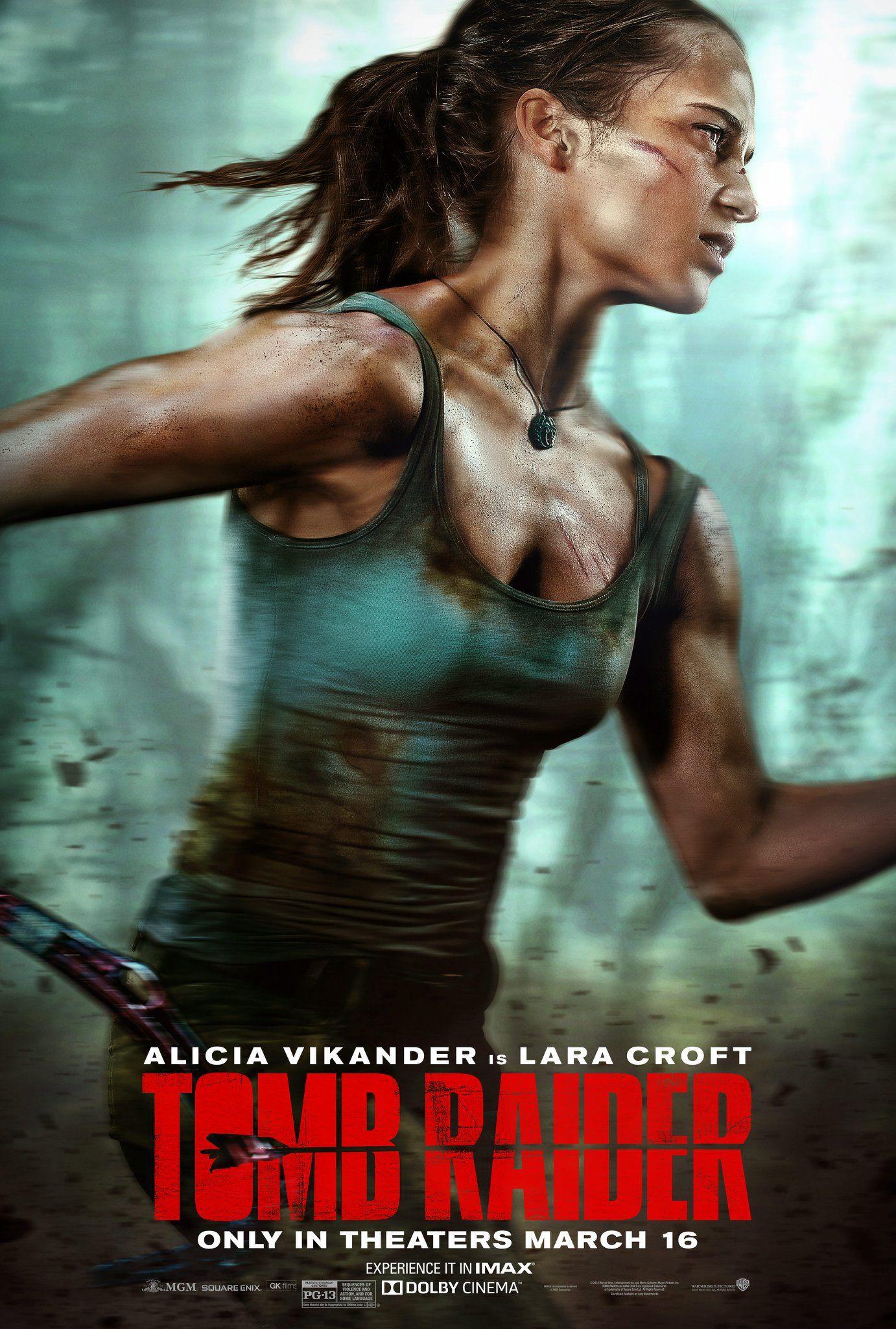 Tomb Raider Alicia Vikander As Lara Croft Tomb Raider Movie