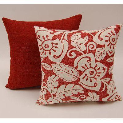 Dakotah Pillow 2 Piece Amazon Knife Edge Cotton Throw Pillow