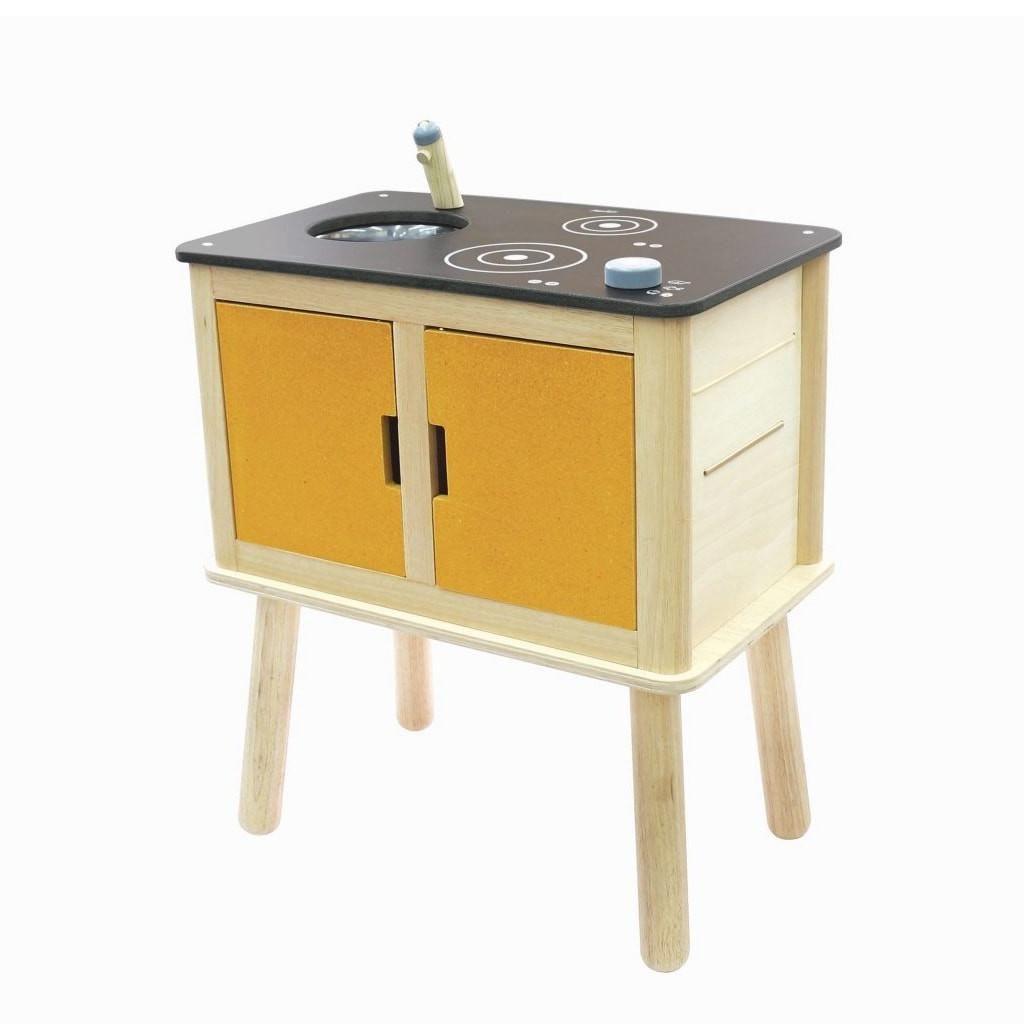 Plantoys Spielküche aus Holz   Spielküche, Kaufläden und Spülbecken