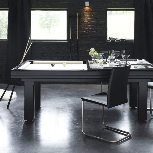 Contemporary Pool Table Convertible Dining Tables Broadway Billards Toulet Baby Foot Debuchy By Toul Pool Table Dining Table Billard Table Best Pool Tables