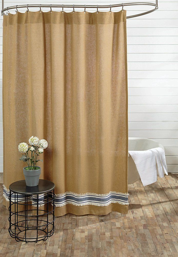 Country Shower Curtains - Revisited | Country style showers, Shabby ...