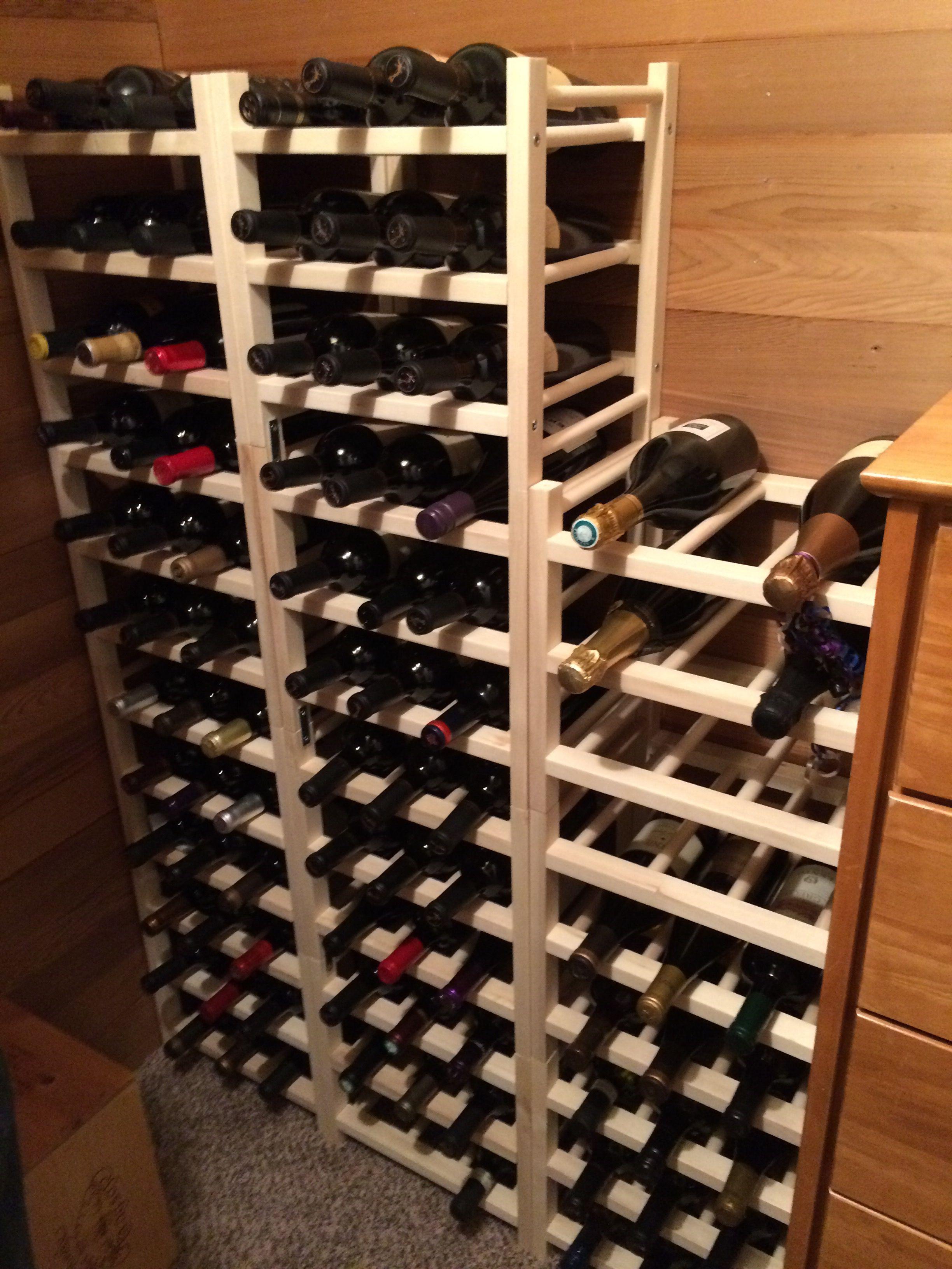 Wine Storage Ikea Hutten Avec Images Cave A Vin Vin Cellier
