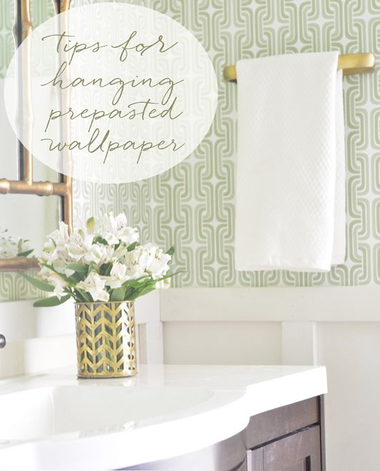 Hanging Prepasted Wallpaper Tips Resources Centsational Girl