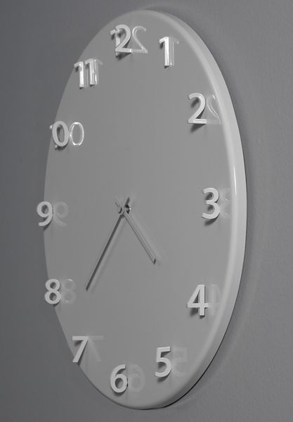 Wall-mounted clock SUNDIAL by Porro design FRONT
