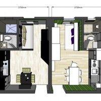 Appartamento 20 mq idee arredo Planimetrie casa piccola