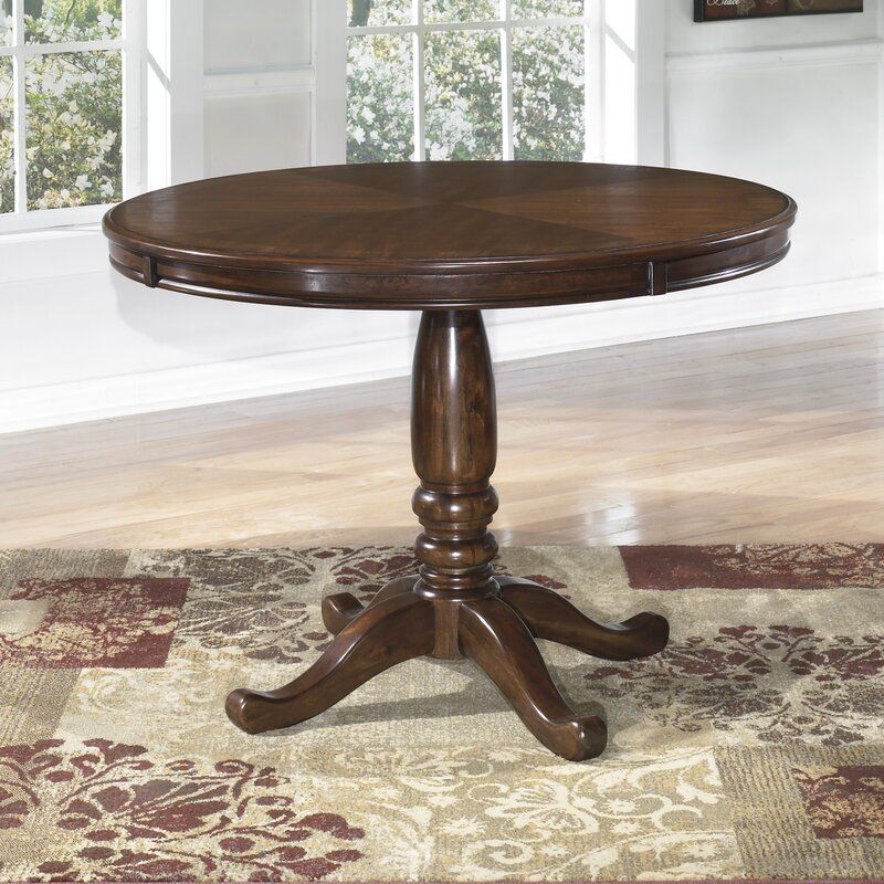 Uhrichsville Dining Table In 2020 Round Dining Room Round Dining Room Table Dining Table