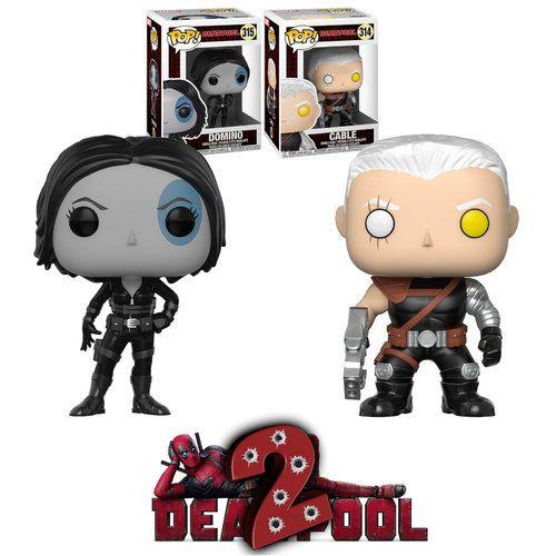 Funko Pop Deadpool Companion Bundle 314 Cable Amp 315