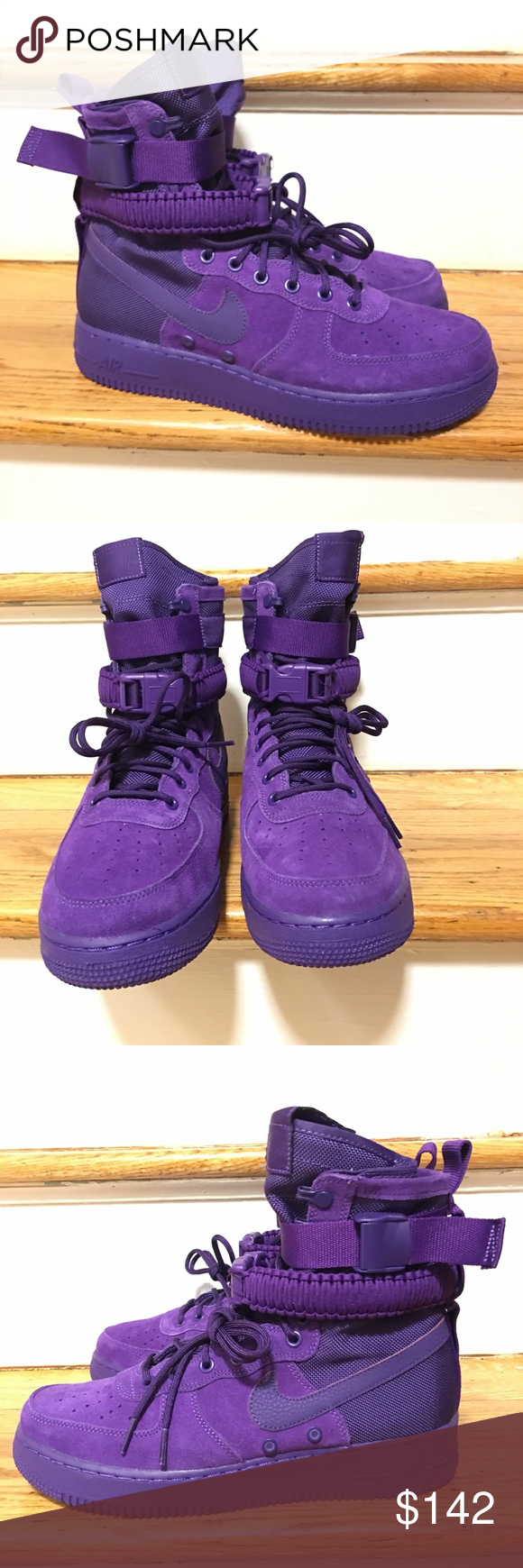 61969f170d36db Nike SF AF 1 Air Force 1 Court Suede Size 9.5 Nike SF AF 1 Air Force ...