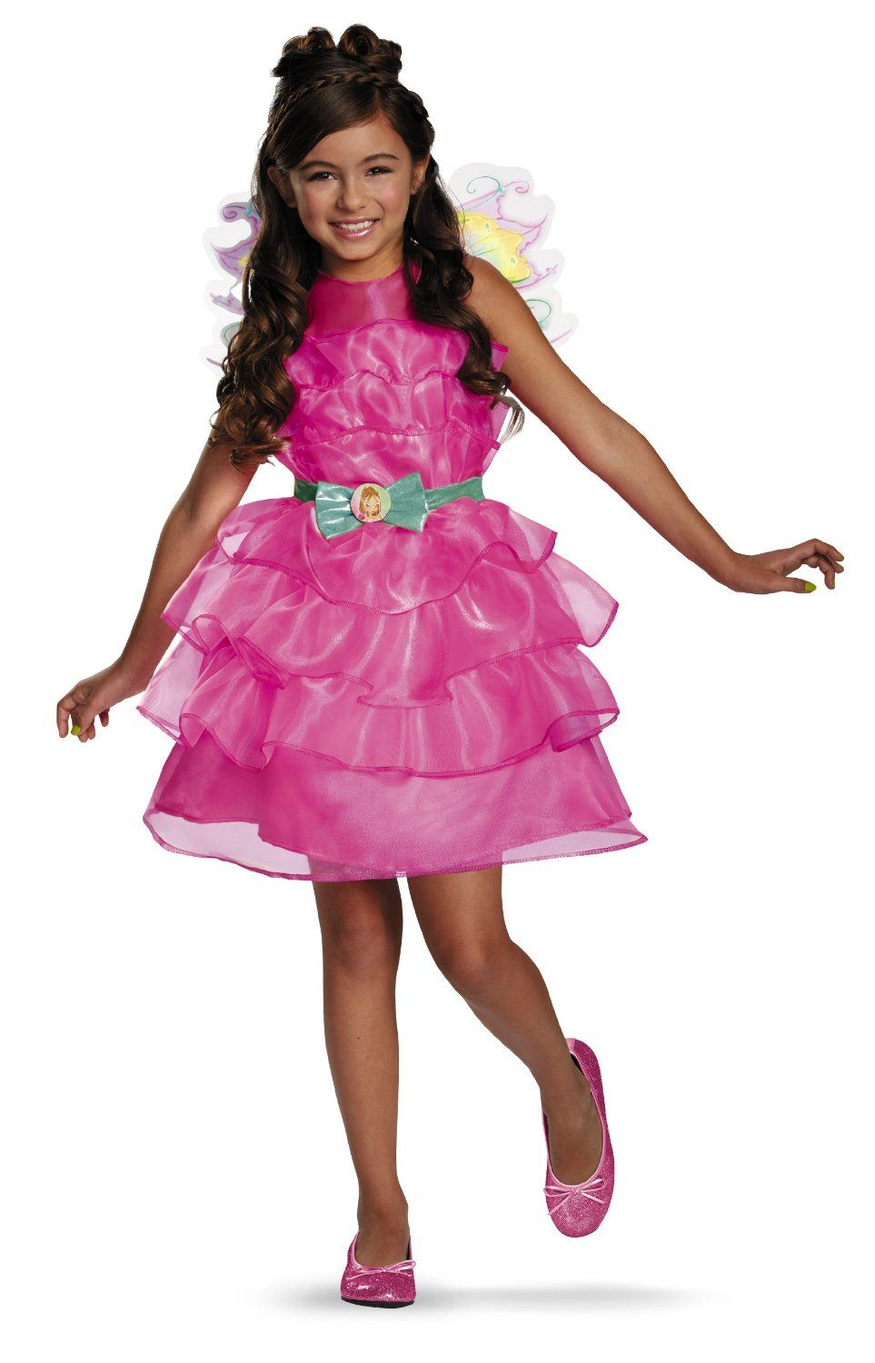 Disguise Winx Club Flora Classic Girls Costume
