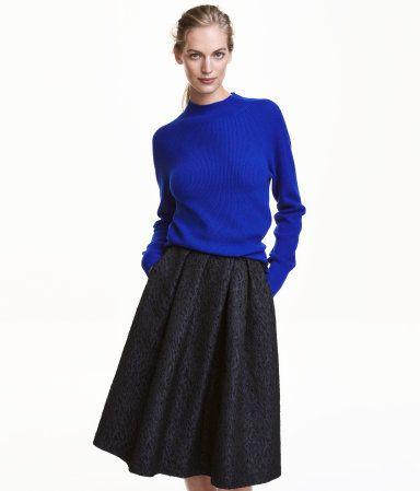 Cashmere Sweater | Cornflower blue | Ladies | H&M US | winter 2016 ...