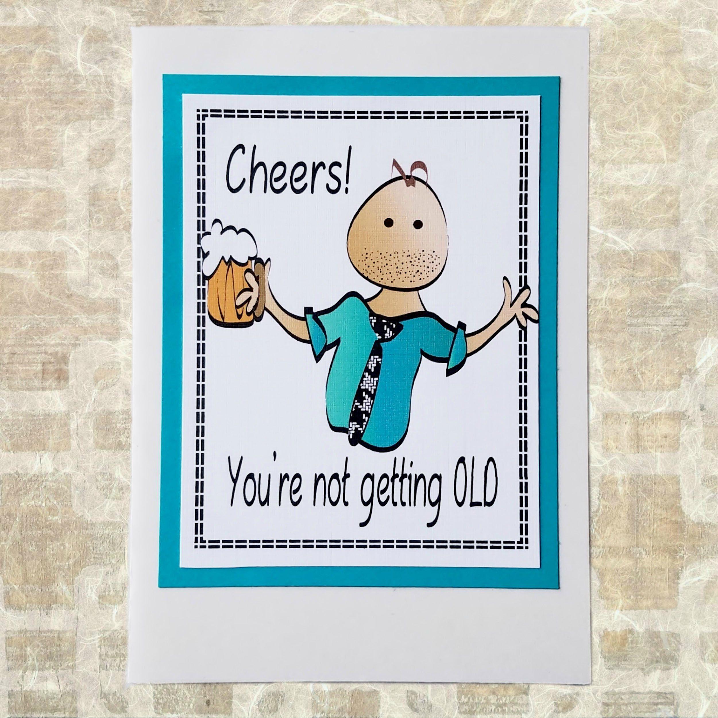 snarky happy birthday card
