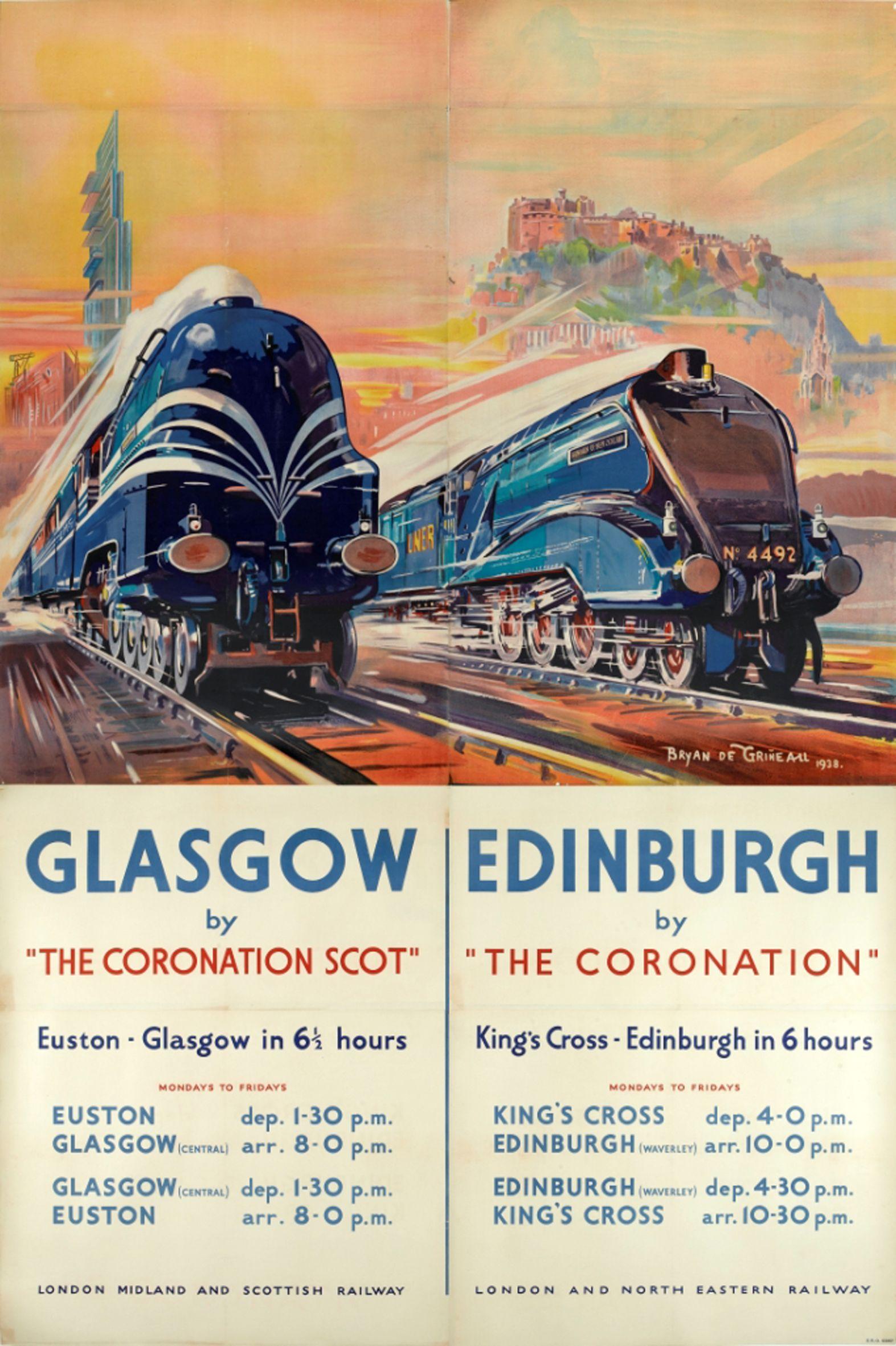 vintage library | Vint... Vintage Train Poster