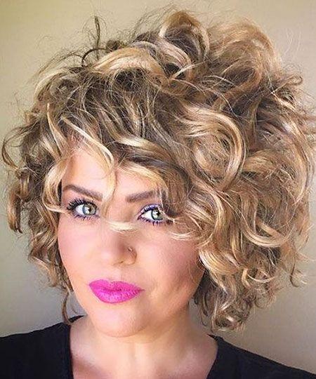 Gelocktes kurzes Haar Hairtyle #curlshorthair