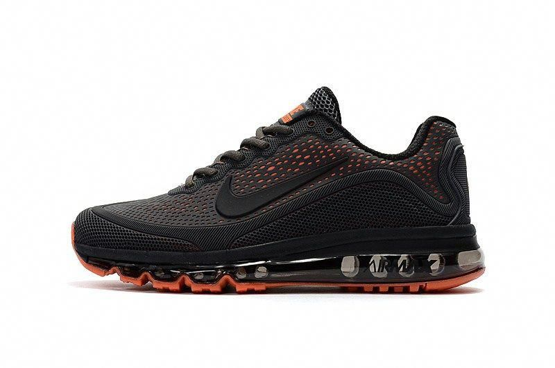 newest 4586f de2bb Men s Nike Air Max 2018 Elite KPU TPU Shoes Black Red  1-1710AXMM-8  -   79.00
