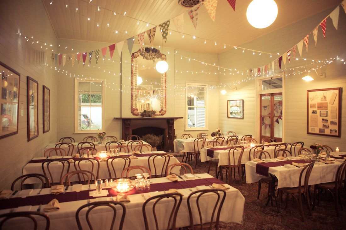 Modern Vintage Inspired Wedding Reception Ceiling Decor Of