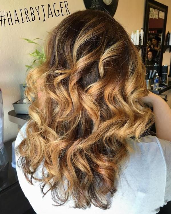 60 Hairstyles Featuring Dark Brown Hair With Highlights Curly Hair