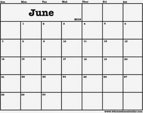 Free Printable Calendar Free Printable Calendar June Calendar