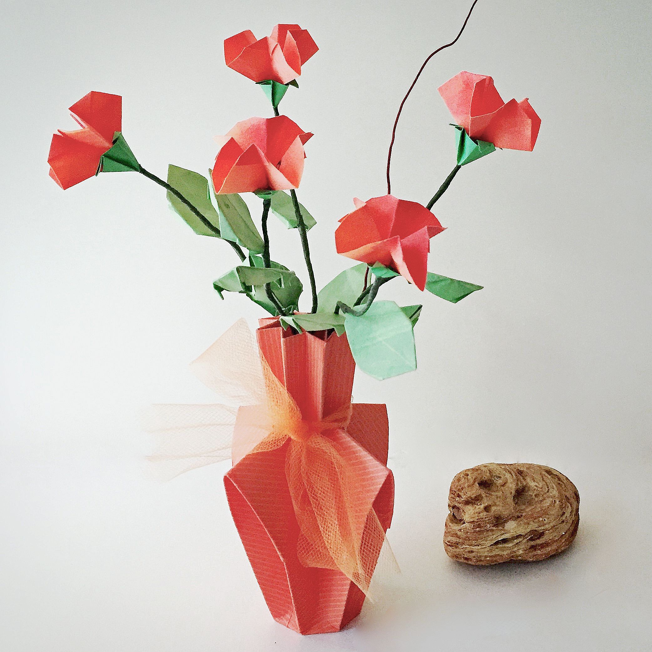 2499 small origami flower arrangement make everything look flower 2499 small origami flower arrangement jeuxipadfo Gallery