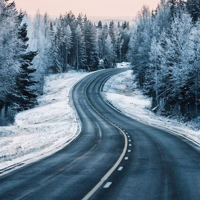 Картинки легкой дороги зимой
