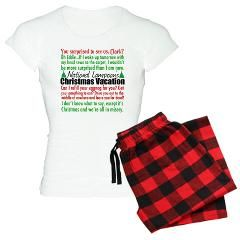 Christmas Vacation Women s Light Pajamas   Christmas Vacation   Quotable TV 675013667