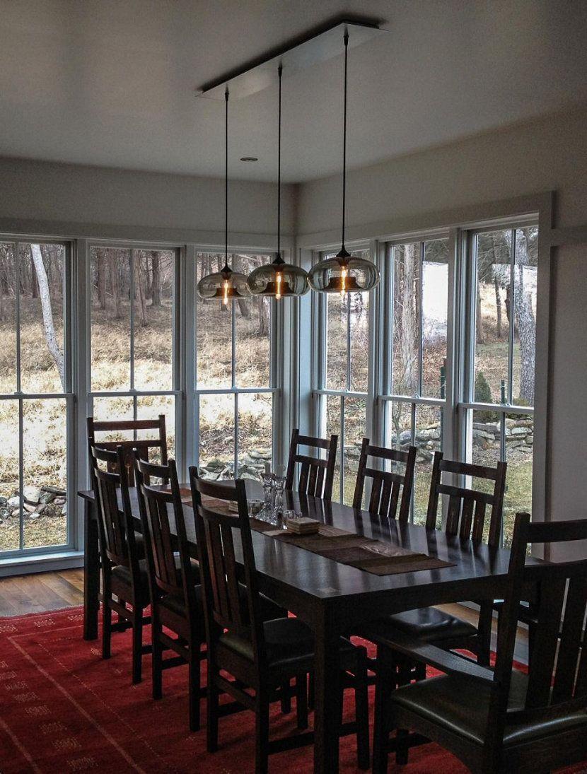 modern dining room pendant lighting   Dining room pendant, Dining ...