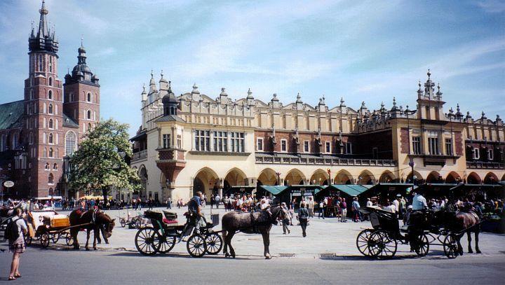 Krakow  main square  Krakow  Pinterest  Krakow