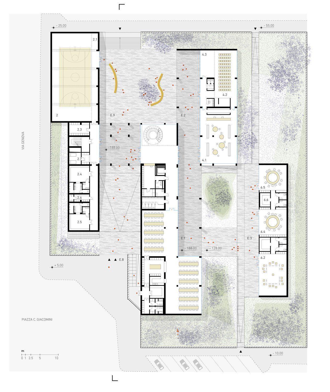 Enrico Fermi School, Wow Architettura – Beta Architecture