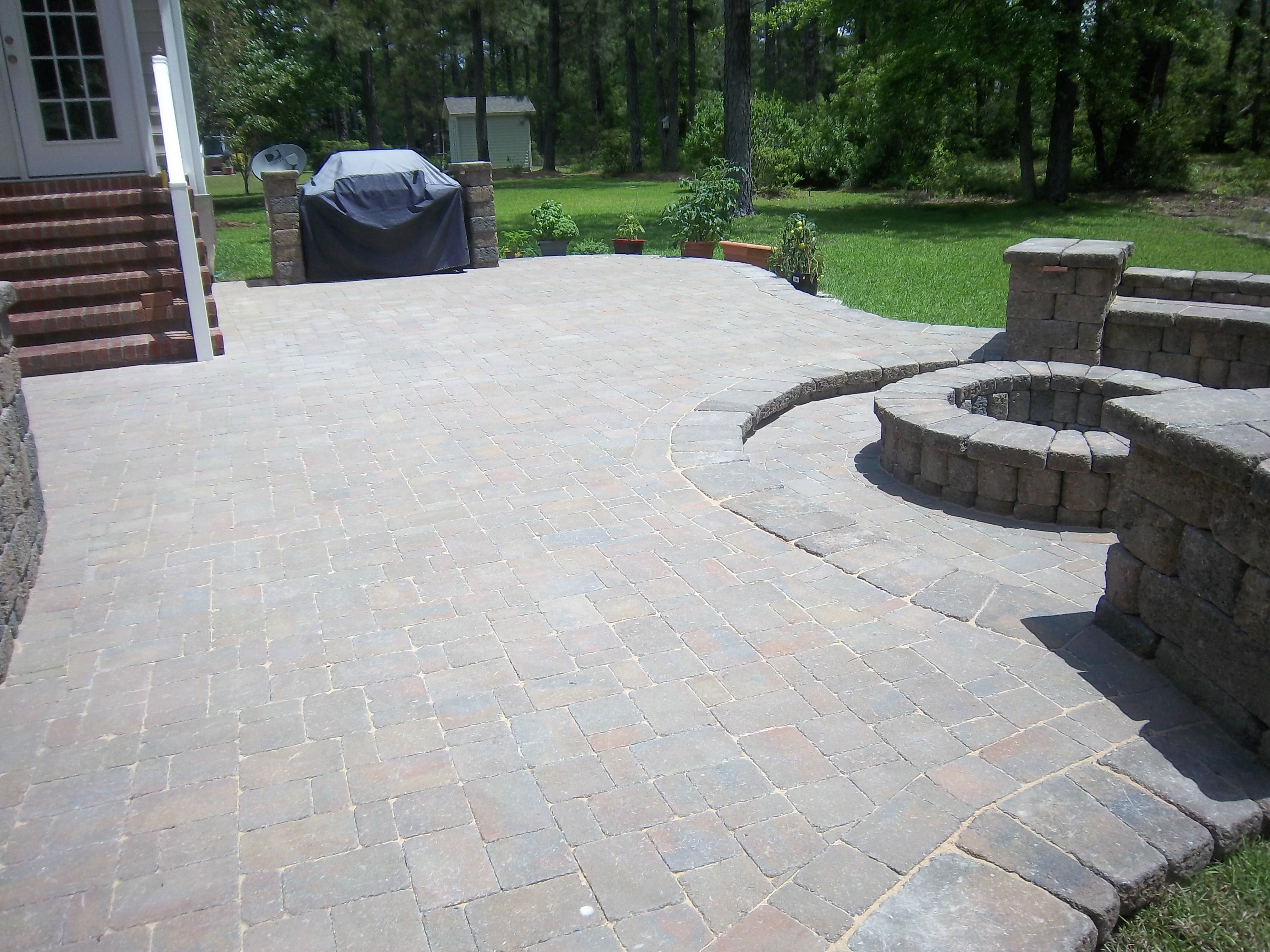 belgard dublin cobble pavers country manor walls and firepit dreamscape hardscape and design new