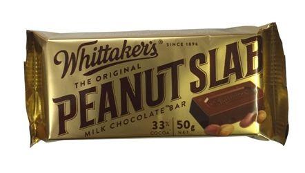 Whittakers Peanut Slab 50g Childhood Favorites