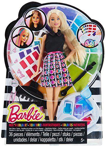 haarfarbenzauber barbie