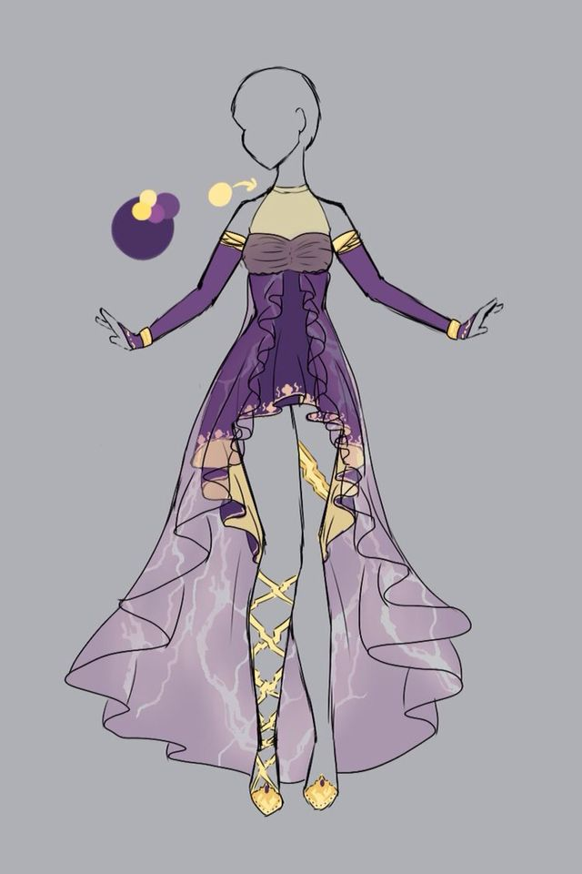 Sketches · roxo · dress drawingdrawing