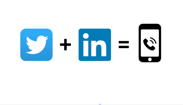 Twitter + LinkedIn = Scalable Prospecting - Thanks to @Unfollowersme