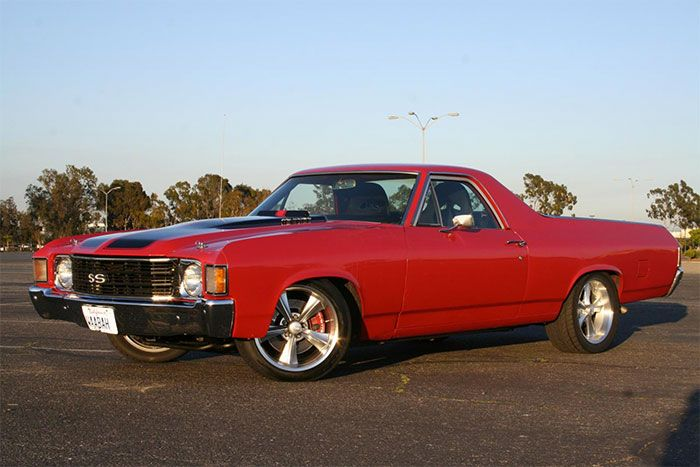 Chevrolet El Camino Vintage Muscle Car Discontinued By Chevy Manufacture From Production