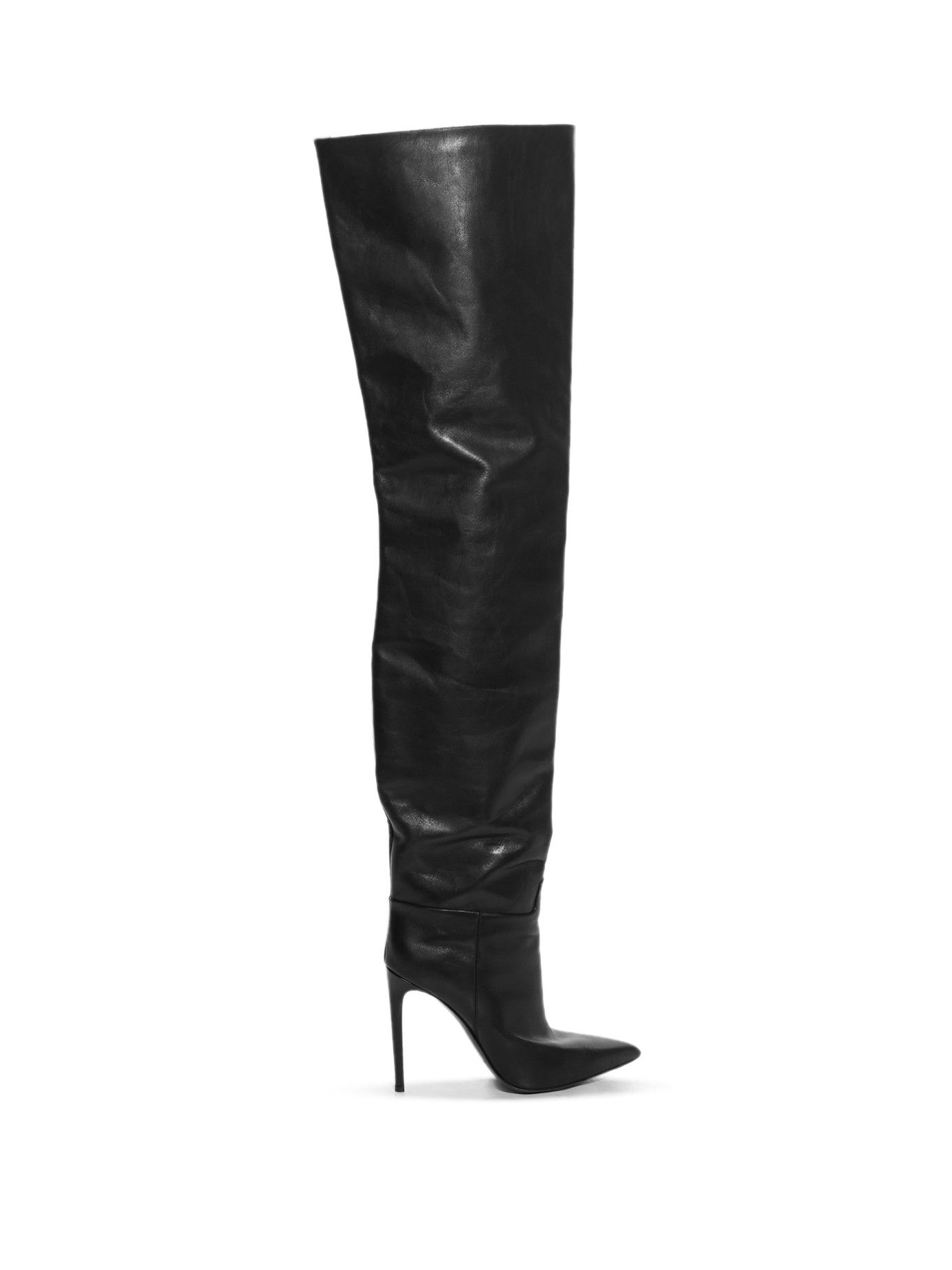 authentic quality wholesale sale retailer Balenciaga XXL thigh-boots - Black | Balenciaga boots, Boots ...