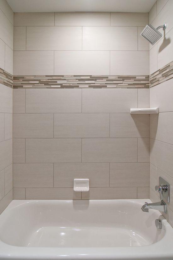 Bathroom Tile Combination Cameo Homes Inc Like the big format but