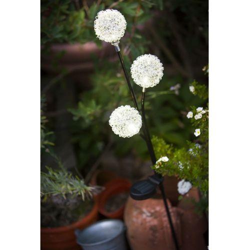 Galix lanterne solaire 3 boules 3 led blanches pas cher achat vente lampes solaires rueducommerce