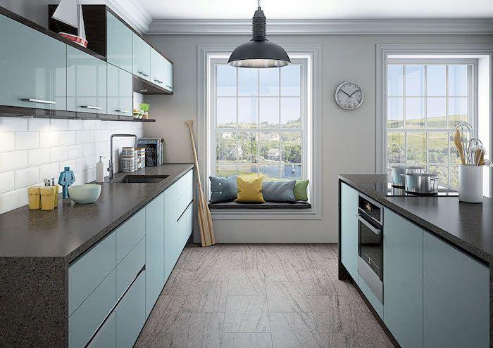 70 verblüffende Küchen Ideen in Blau Küchen ideen, Küche