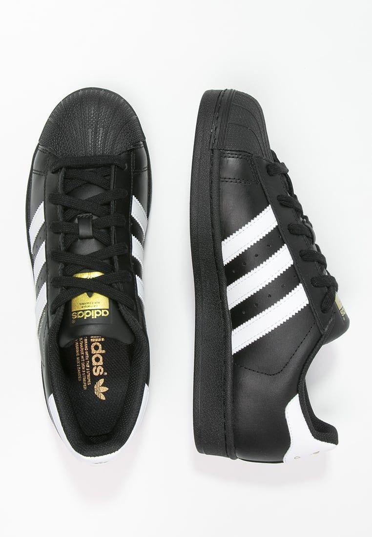 huge discount 067a7 87e16 Baskets adidas Originals SUPERSTAR FOUNDATION - Baskets basses - noir    blanc noir  99,