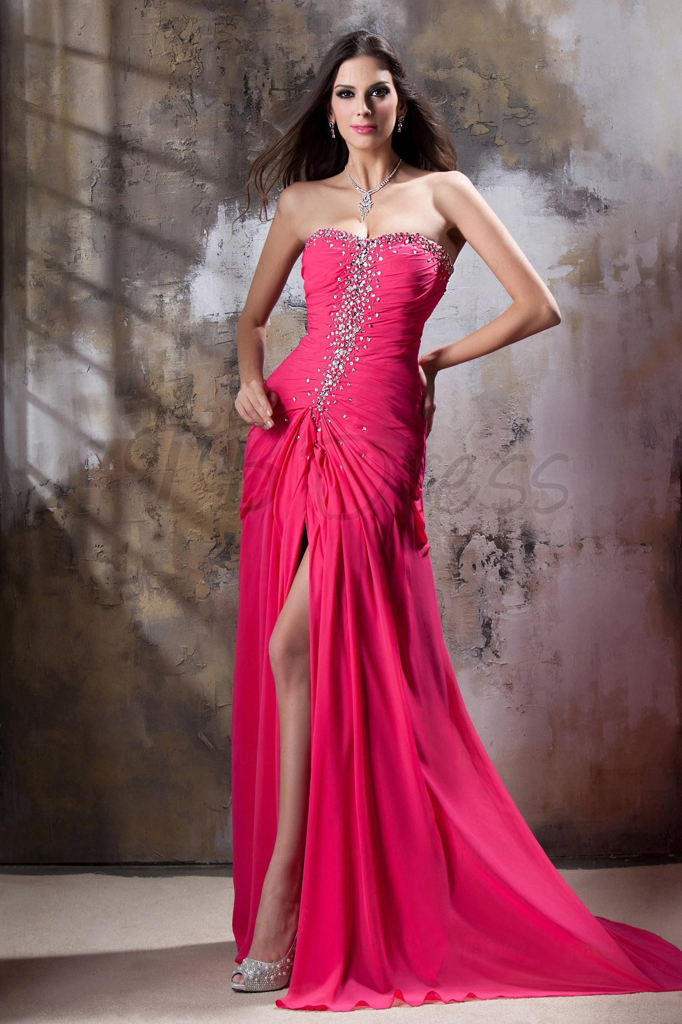 Graceful A-Line Sweetheart Floor-Length Empire Waistline Beadings Taline's Evening Dress