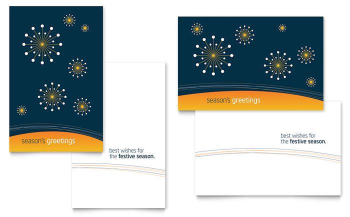 Free Sample Greeting Card Template By Stocklayouts  Art