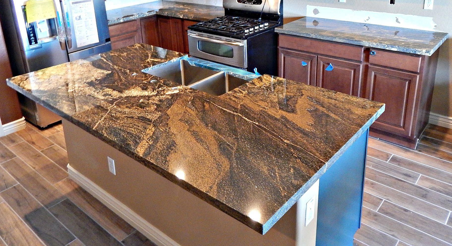 lava classic granite island remodel with flat polish edge and 50 50 rh pinterest com