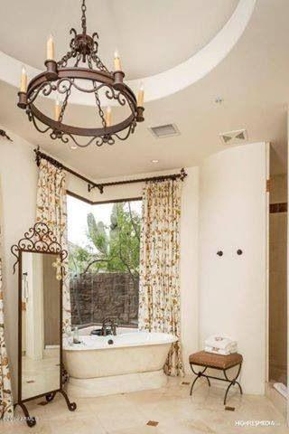 Dwayne's divine bathroom.