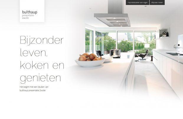 bulthaup presentatie Zwolle - Best website, web design inspiration showcase - www.niceoneilike.com
